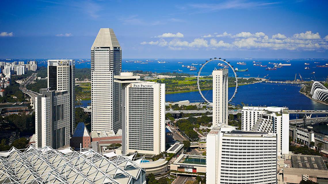 シンガポールの5つ星ラグジュアリー ホテル   パンパシフィック ...
