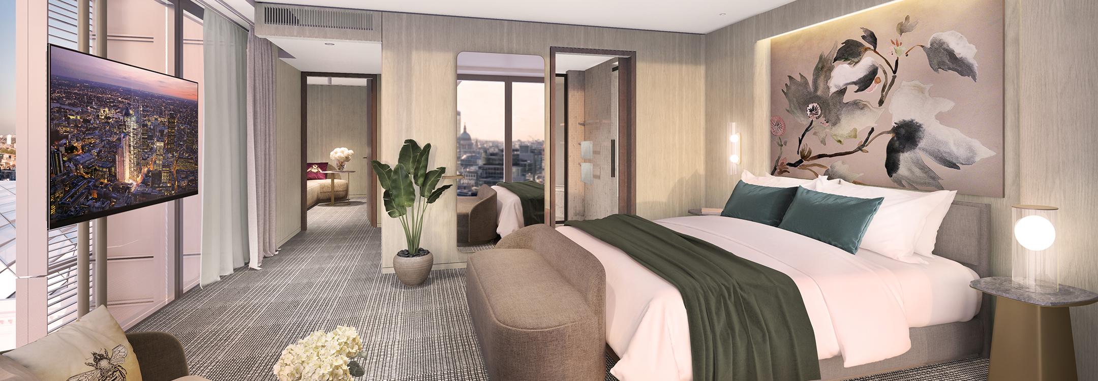 Pan Pacific Bishopsgate Suite London