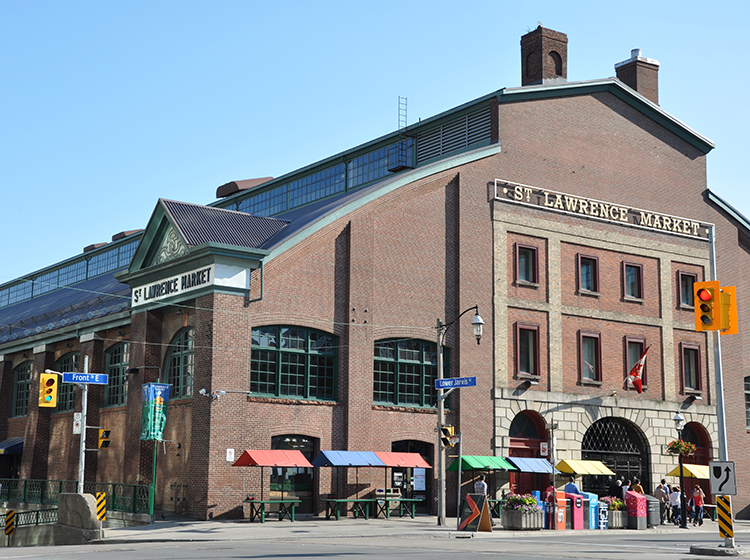 St Lawrence Market in Toronto